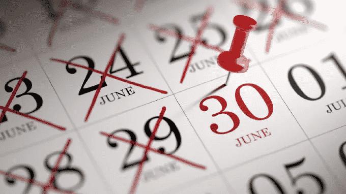 EOFY: Calendar of Due Dates for 2019